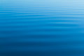 Blue water ripples from the ocean Royalty Free Stock Photo