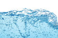 Blue water wave abstract background Royalty Free Stock Photo