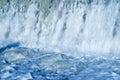 Blue waterfall Stock Photo