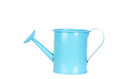 Blue watering can Royalty Free Stock Photo
