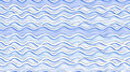 Blue waves seamless background Stock Image