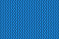 Blue wavy background vector illustration Royalty Free Stock Image