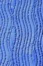Blue Wavy Lines Royalty Free Stock Photo