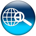 Blue Web Icon Royalty Free Stock Images