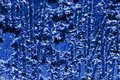 Blue and white abstract background texture wall wallpaper ice frozen linese freeze dark bright color Royalty Free Stock Photo