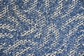 Blue and white carpet texture Royalty Free Stock Photo