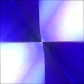 Blue and white checkered square Royalty Free Stock Photo