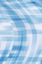Blue and white curved lines background Royalty Free Stock Photo