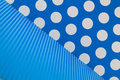 Blue and white dots background design Royalty Free Stock Photo