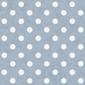 Blue and White Large Polka Dots Pattern Repeat Background Royalty Free Stock Photo