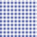 Blue and white seamless tablecloth Vector. Airy Blue and Riverside color. Seamless traditional tablecloth pattern Vector. Pastel b Royalty Free Stock Photo