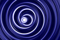 Blue and white spirals Stock Photography