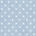 Blue And White Stars And Strip...
