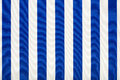 Blue and white striped fabric, texture background Royalty Free Stock Photo