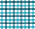 Blue and white tablecloth Royalty Free Stock Photos