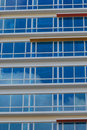 Blue Window Panes Royalty Free Stock Images