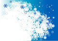 Blue winter background Royalty Free Stock Image