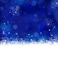Blue Winter, Christmas Backgro...