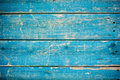 Blue wooden fence Royalty Free Stock Photo