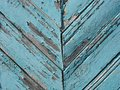 Blue wooden fence Stock Photography