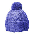 Blue woolen hat Stock Images