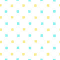 Blue and yellow paint squares background. Royalty Free Stock Photo