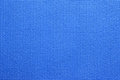 Blue Yoga Mat texture Royalty Free Stock Photo