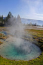 Bluebell pool, Yellowstone National Park Royalty Free Stock Photo