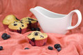 Blueberries muffin Royalty Free Stock Image
