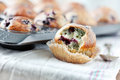 Blueberries muffins Royalty Free Stock Photography