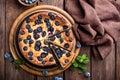 Blueberry cake Royalty Free Stock Photo