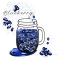 Blueberry drink