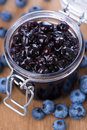 Blueberry Jam Stock Image