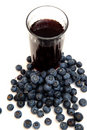 Blueberry Juice Royalty Free Stock Photography