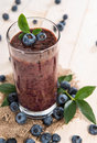 Blueberry Juice Royalty Free Stock Photo