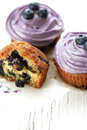 Blueberry muffins still life selective focus Stock Photography