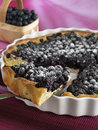 Blueberry pie Stock Photos