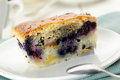 Blueberry pie slice Royalty Free Stock Photo