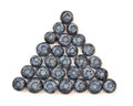 Blueberry Pyramid Stock Photo