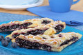 Blueberry Turnovers Royalty Free Stock Photography