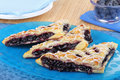 Blueberry Turnovers Stock Images