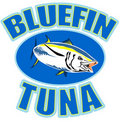 Bluefin tuna fish Royalty Free Stock Photography