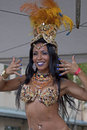 The blues event mardi gras location chinatown honolulu on island of o ahu hawai i usa iii subject samba dancer christina Stock Photos