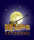 Blues moon Royalty Free Stock Photo