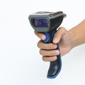 Bluetooth barcode and QR code scanner Royalty Free Stock Photo