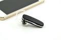 Bluetooth handsfree device Royalty Free Stock Photo