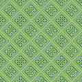 Bluish Green Colors Square grid Pattern design. Korean tradition Royalty Free Stock Photo