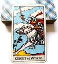 Knight Of Swords Tarot Card Ch...