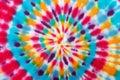 Blur fabric Tie-dye. Royalty Free Stock Photo