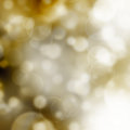 Blurred background bokeh with defocused lights Royalty Free Stock Photos